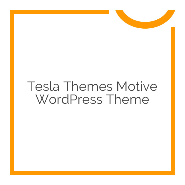 Tesla Themes Motive WordPress Theme 1.2.8