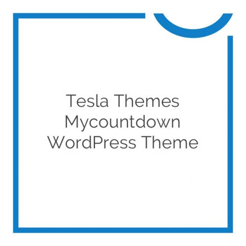 Tesla Themes Mycountdown WordPress Theme 1.6