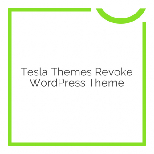Tesla Themes Revoke WordPress Theme 1.9.6.8