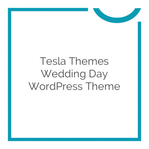 Tesla Themes Wedding Day WordPress Theme 1.2.2
