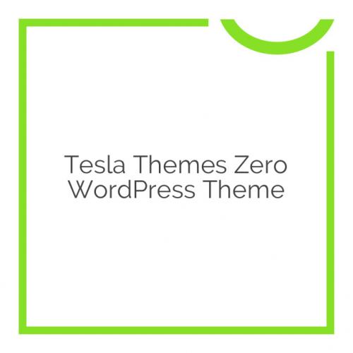 Tesla Themes Zero WordPress Theme 4.1.5