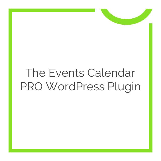 The Events Calendar PRO WordPress Plugin 4.4.19