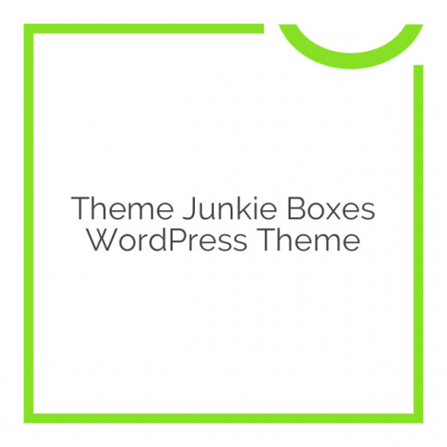 Theme Junkie Boxes WordPress Theme 1.0.1
