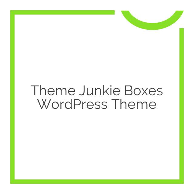Theme Junkie Boxes WordPress Theme 1.0.1