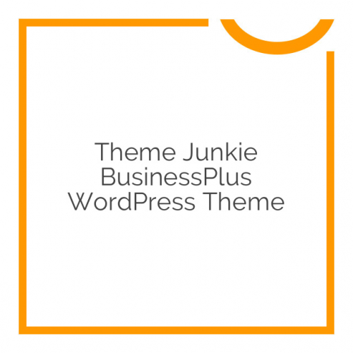 Theme Junkie BusinessPlus WordPress Theme 1.0.6
