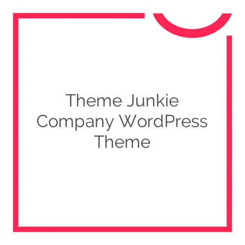 Theme Junkie Company WordPress Theme 1.0.3
