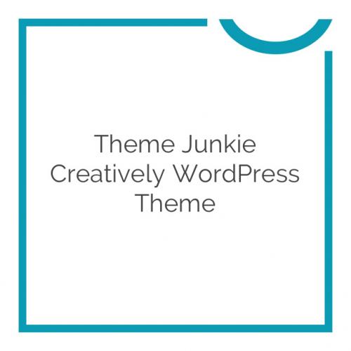Theme Junkie Creatively WordPress Theme 1.0.0