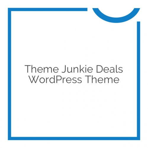 Theme Junkie Deals WordPress Theme 1.1