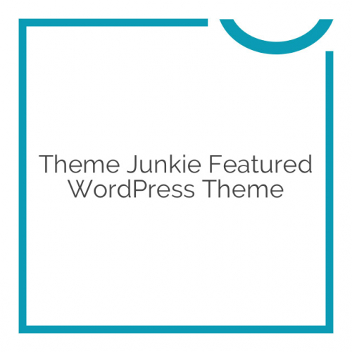 Theme Junkie Featured WordPress Theme 1.0.0