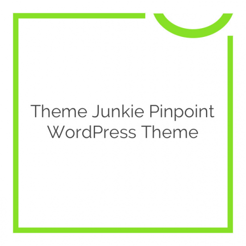 Theme Junkie Pinpoint WordPress Theme 1.0.2