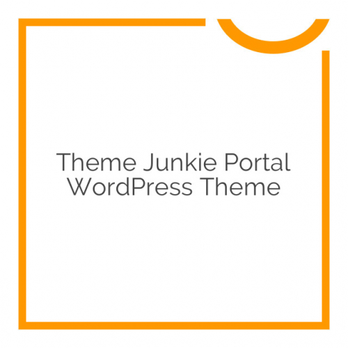 Theme Junkie Portal WordPress Theme 2.0.0