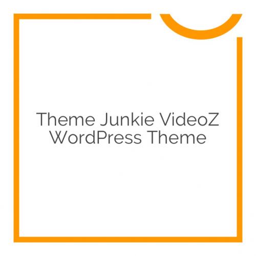 Theme Junkie VideoZ WordPress Theme 1.1.2
