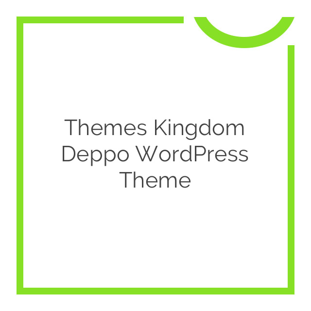 Themes Kingdom Deppo WordPress Theme 1.0.2
