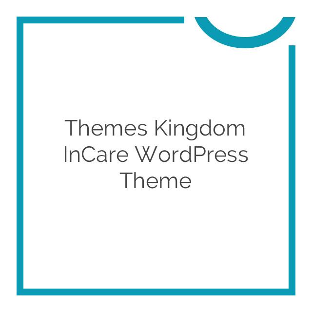 Themes Kingdom InCare WordPress Theme 2.5