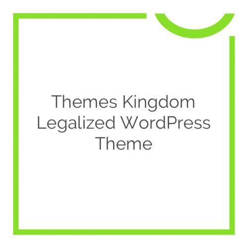 Themes Kingdom Legalized WordPress Theme 1.8