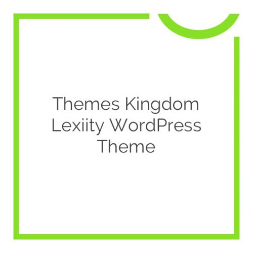 Themes Kingdom Lexiity WordPress Theme 1.3.1