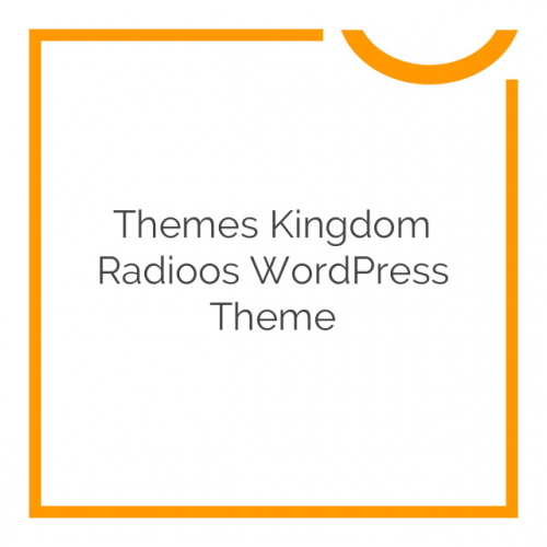 Themes Kingdom Radioos WordPress Theme 1.6