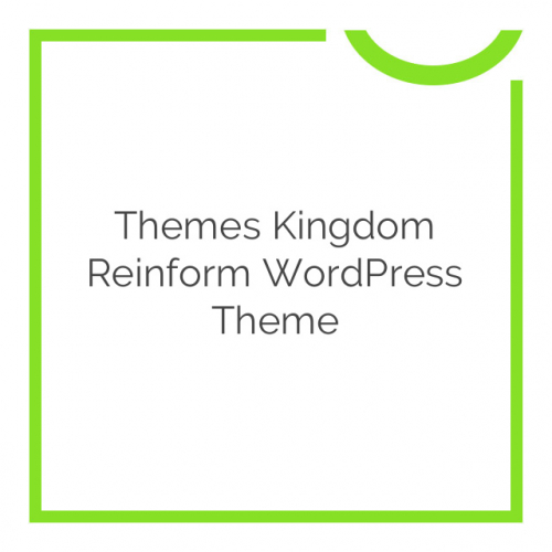 Themes Kingdom Reinform WordPress Theme 1.0.3