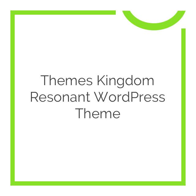 Themes Kingdom Resonant WordPress Theme 1.1.1