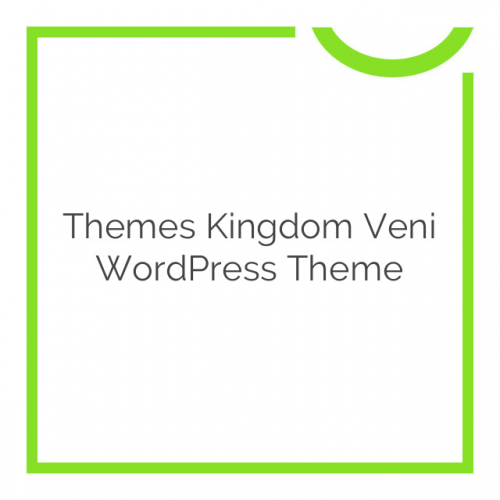 Themes Kingdom Veni WordPress Theme 2.0.4
