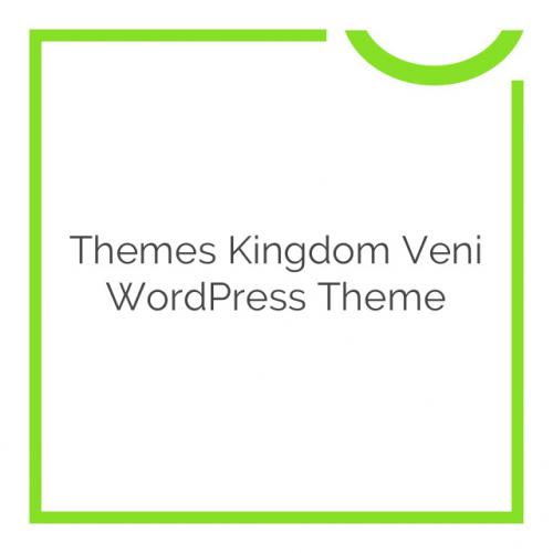 Themes Kingdom Veni WordPress Theme 2.0.4