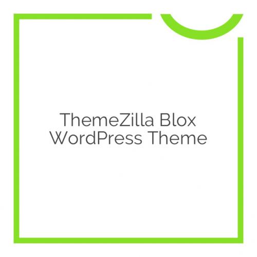 ThemeZilla Blox WordPress Theme 1.2.1
