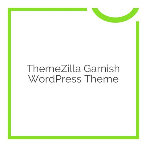 ThemeZilla Garnish WordPress Theme 1.4