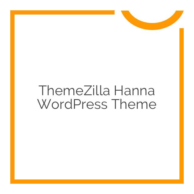 ThemeZilla Hanna WordPress Theme 1.7.1