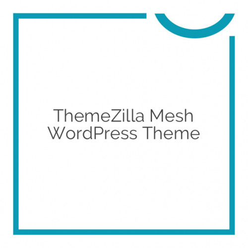 ThemeZilla Mesh WordPress Theme 1