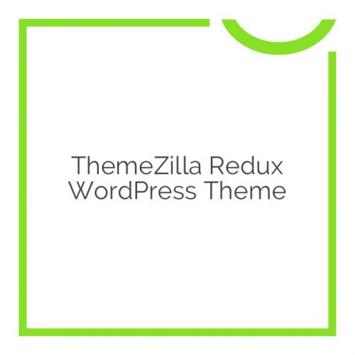 ThemeZilla Redux WordPress Theme 1.4