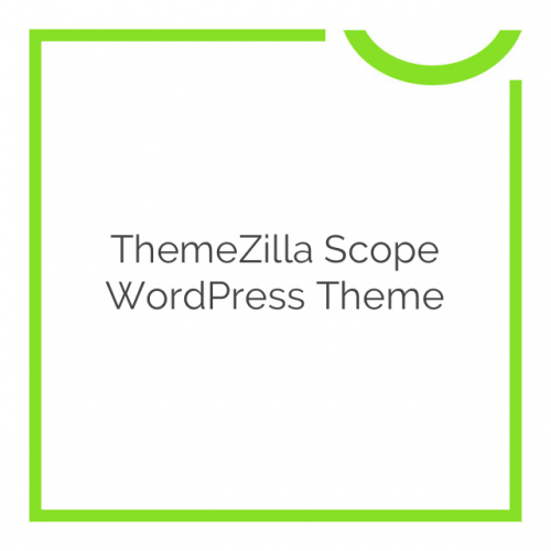 ThemeZilla Scope WordPress Theme 1.3