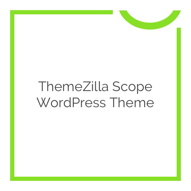 ThemeZilla Scope WordPress Theme 1.3