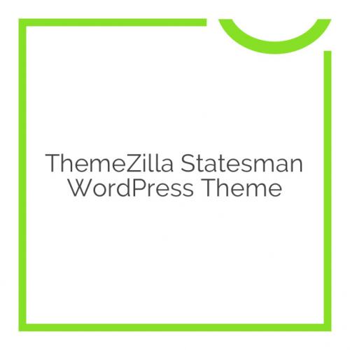 ThemeZilla Statesman WordPress Theme 1.0.1