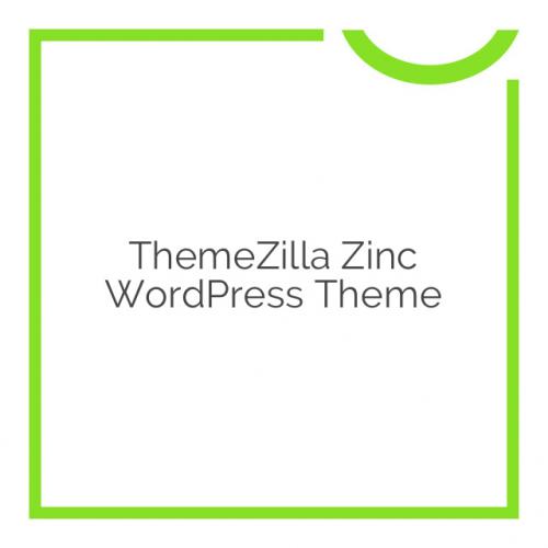 ThemeZilla Zinc WordPress Theme 1.0.2