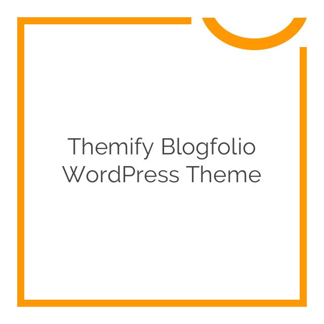 Themify Blogfolio WordPress Theme 3.0.7