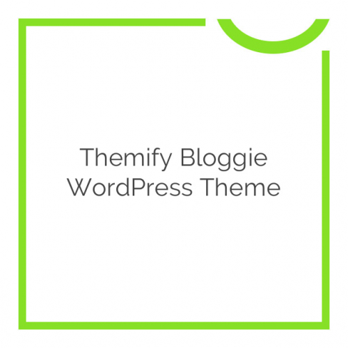 Themify Bloggie WordPress Theme 2.0.8