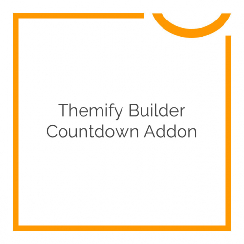 Themify Builder Countdown Addon 1.1.4