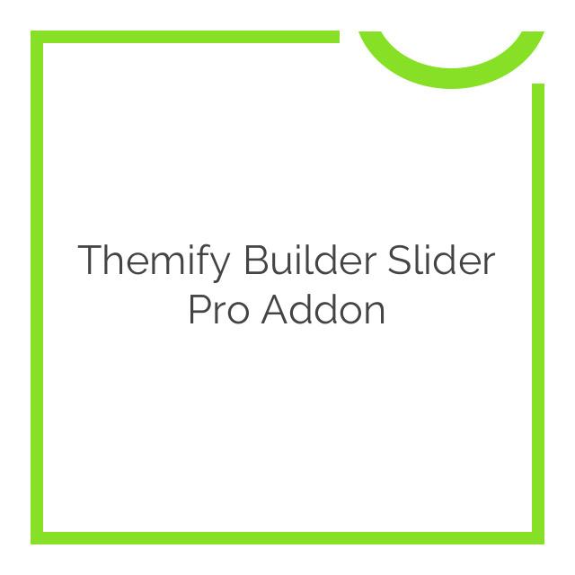 Themify Builder Slider Pro Addon 1.1.8