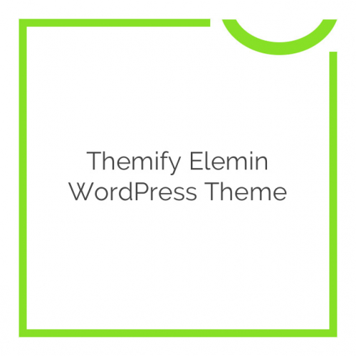 Themify Elemin WordPress Theme 2.0.9