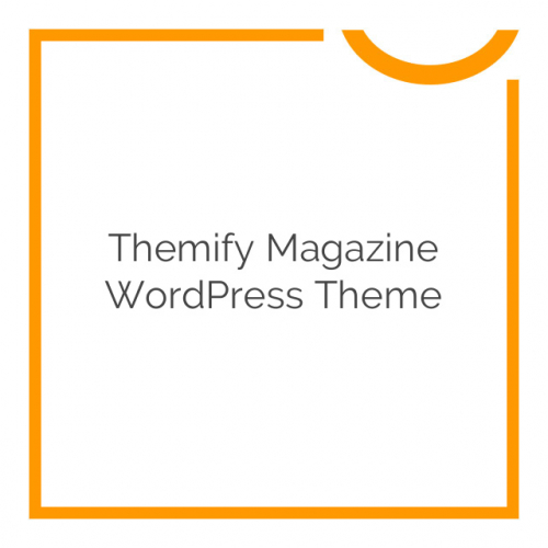 Themify Magazine WordPress Theme 1.8.3