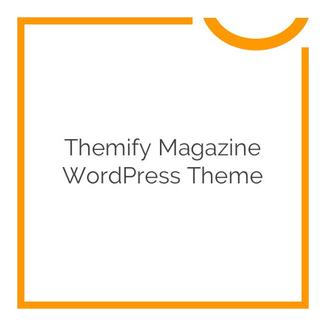 Themify Magazine WordPress Theme 1.8.3