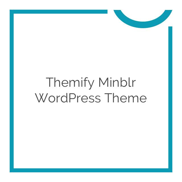Themify Minblr WordPress Theme 2.0.7