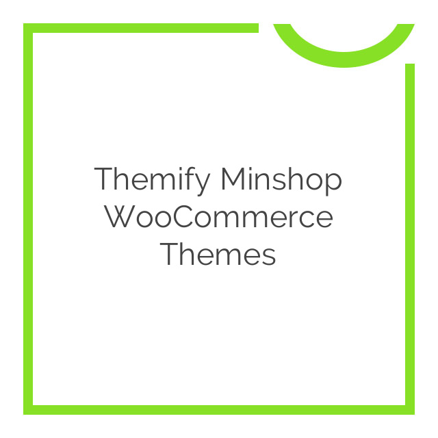 Themify Minshop WooCommerce Themes 2.1.4