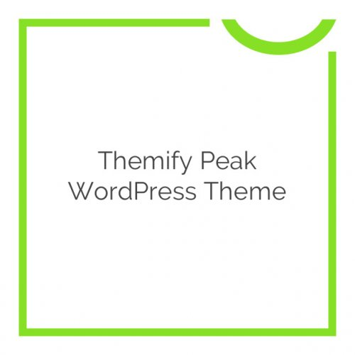 Themify Peak WordPress Theme 1.2.2