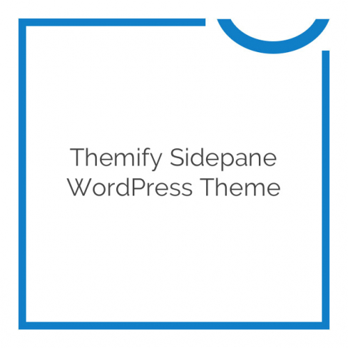 Themify Sidepane WordPress Theme 2.0.0