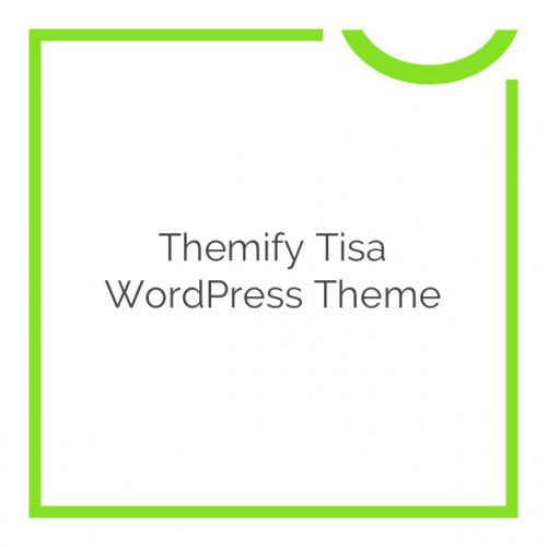 Themify Tisa WordPress Theme 1.9.4