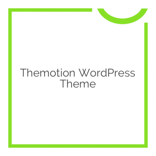Themotion WordPress Theme 1.2.7