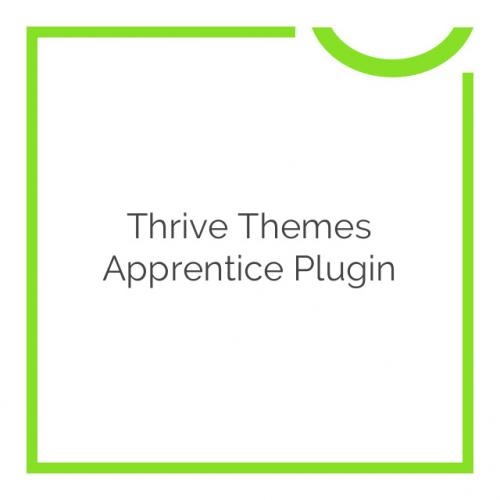 Thrive Themes Apprentice Plugin 2.0.20