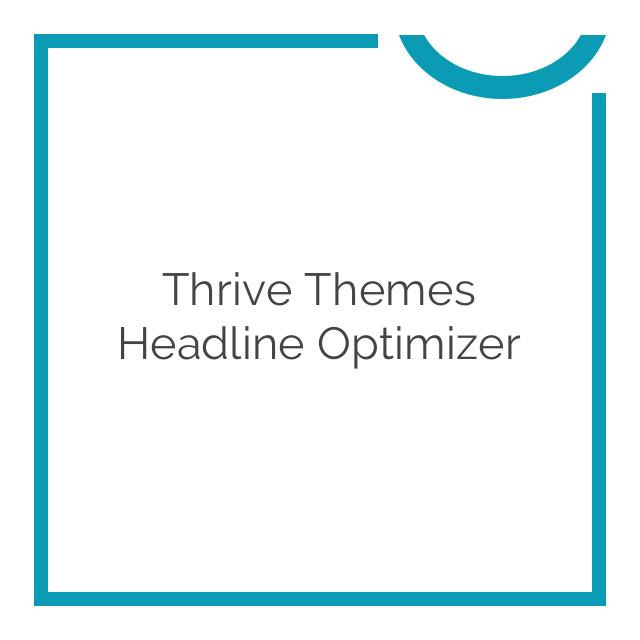 Thrive Themes Headline Optimizer 1.1.10