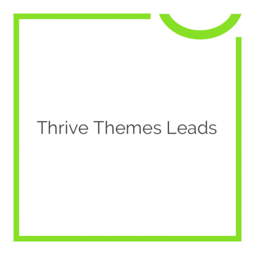 Thrive Themes Leads 2.0.17